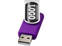 USB Stick Rotate met Doming label