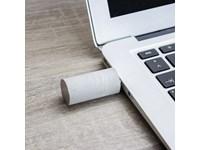 Ronde USB stick in echt beton, art. USB Flash Drive Major round art.A101265