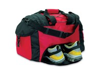 Sport of reistas van 600 D polyester met 3 vakken, model Sportpro , afmeting 48 x 24 x 32 cm