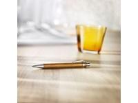 ECO!! Pen in combinatie bamboe- metaal