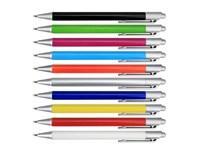 Pen Spectra , kunststof behuizing met een rubberen finish in trendy kleuren