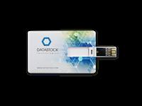 USB credit card , even dun als een normale credit card , full colour